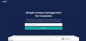 SaaS Landing Page Example